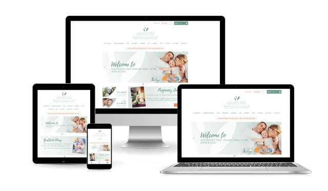 Website design for Natures Child